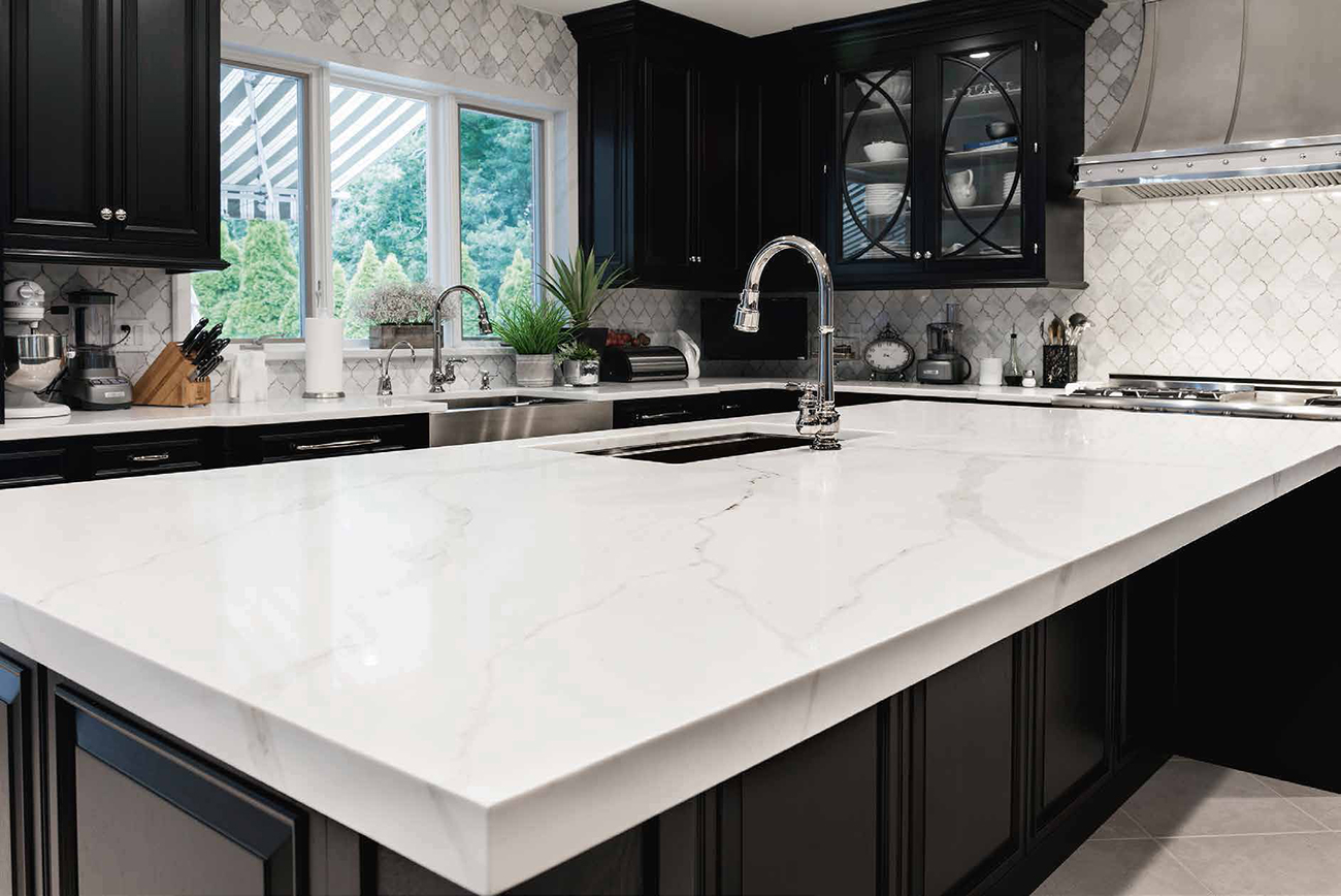 Quartz Kitchen Counter By Aurea Stone