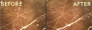 Marble Etch Before After
