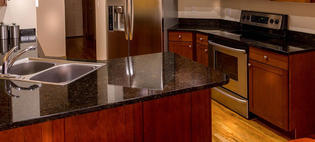 Granite Cleaning Process Results - Clean Kitchen