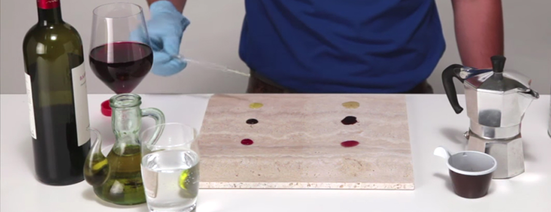 Staining Stone Surfaces